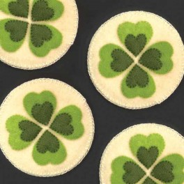 Coasters, Four Leaf Clover
