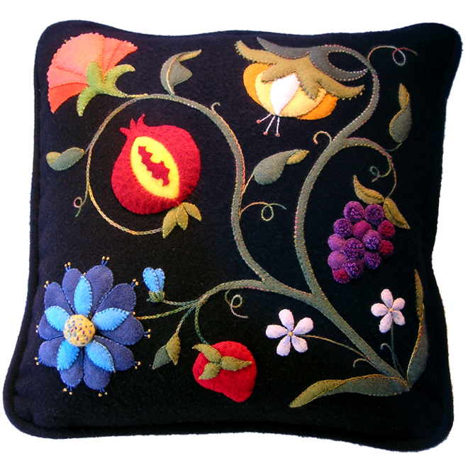 Deborah Tirico Products Felted Wool Applique Embroidery  : classesjacobean from deborahtirico.com size 660 x 660 png 651kB